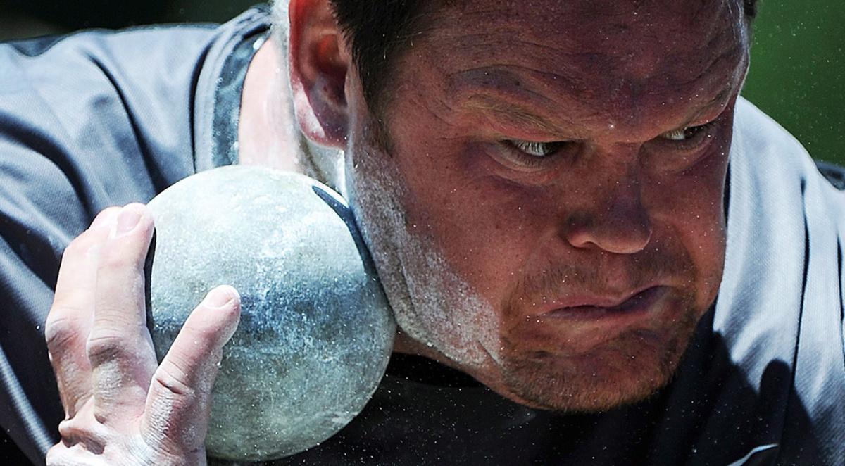 Dylan Armstrong, 2008 Olympic Bronze Medalist